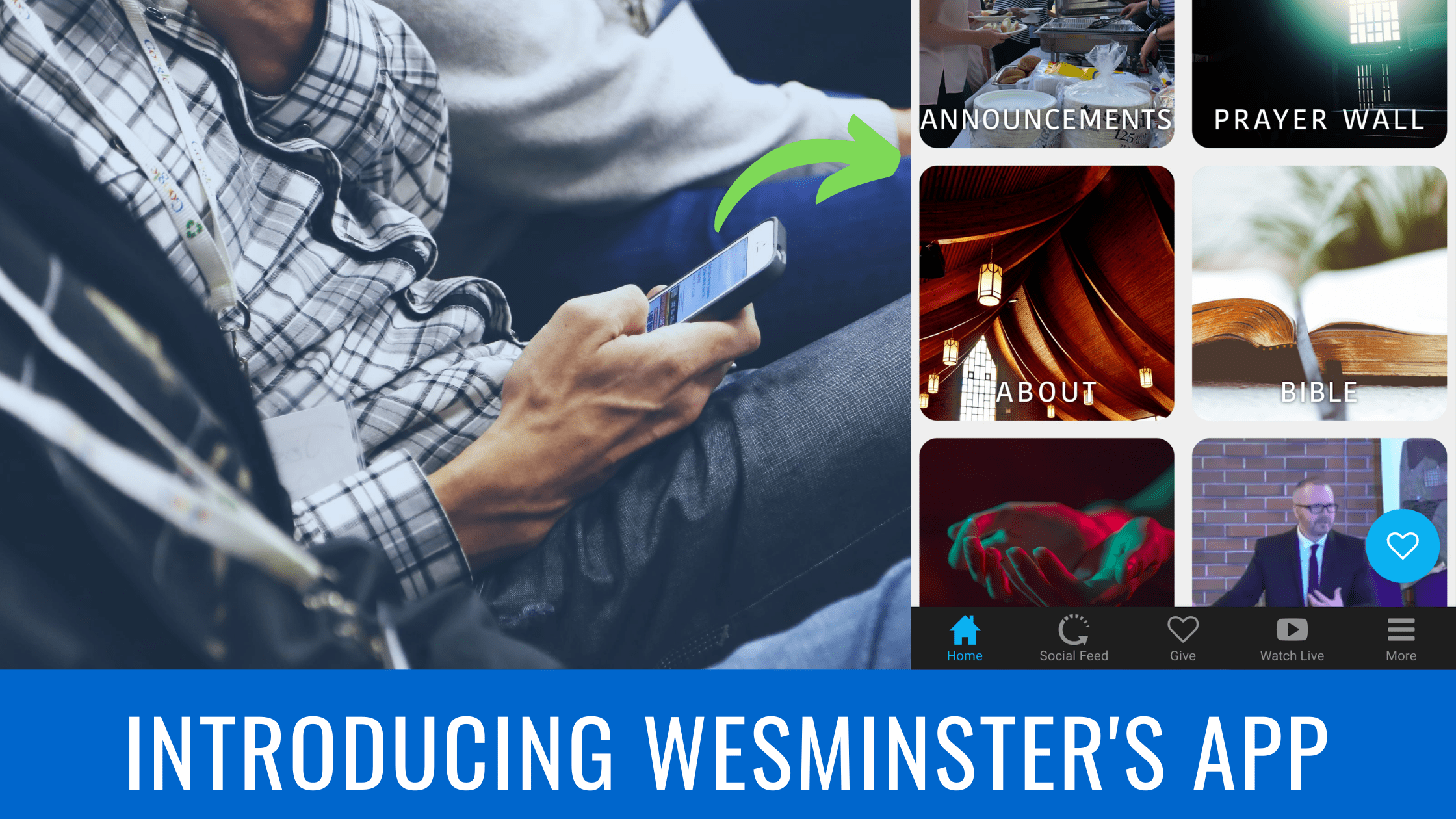 Westminster's new app!
