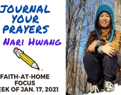 Journal Your Prayers - Faith-At-Home (January 17th)