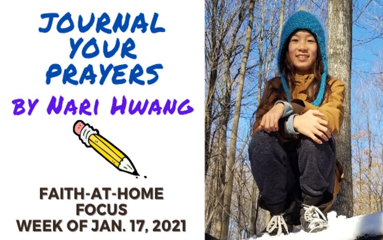 Journal Your Prayers - Faith-At-Home (January 17th)