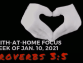 Proverbs 3:5 - Faith-At-Home (January 10th)
