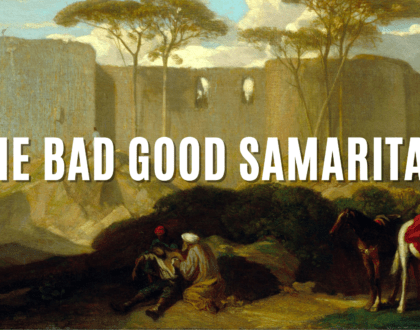 The Bad Good Samaritan