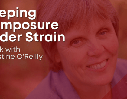 Keeping composure under strain