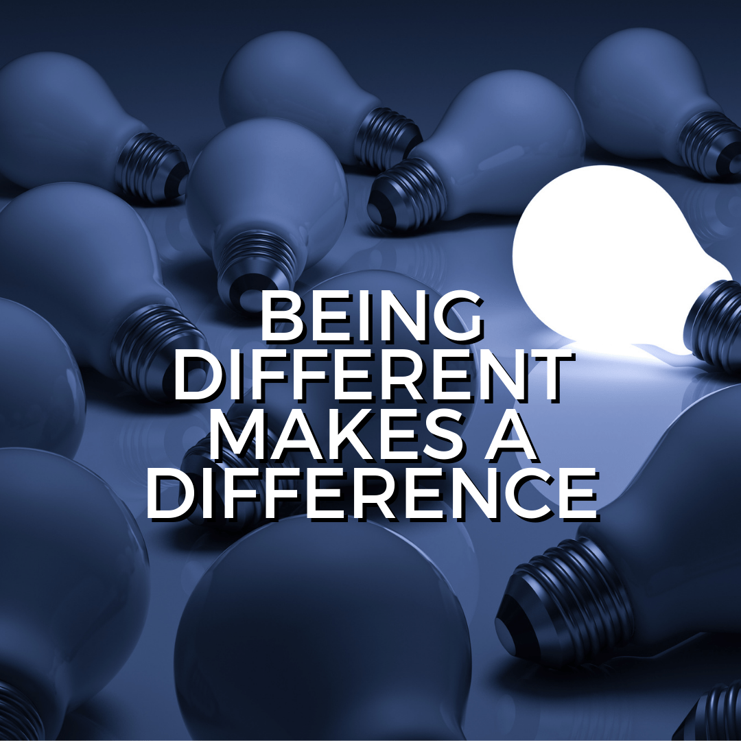 Being different makes a difference (Sermon)